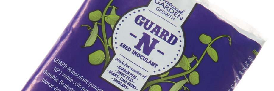 The Guard-N-Seed inoculant package.