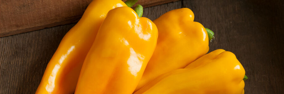 Award-winning orange sweet specialty peppers.