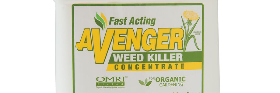 The Avenger organic insecticide container.