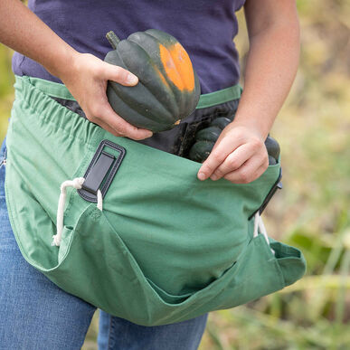 The Joey Apron® – Leaf Green Harvesting Tools