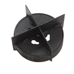 "Cross-cut Die – 5.1"" x 5.1"" Mulch Hole Burners"