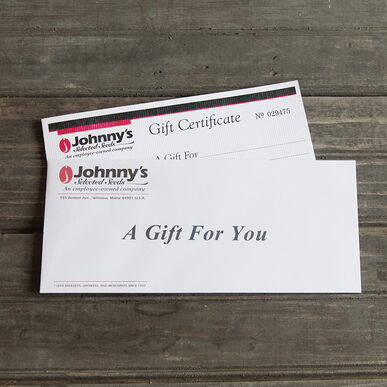 Gift Certificate – $10.00 Gift Certificates