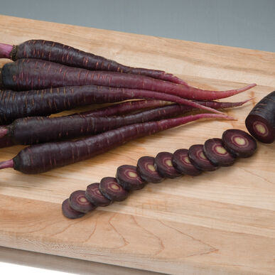 Deep Purple Main Crop Carrots