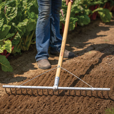 Bed Preparation Rake Rakes