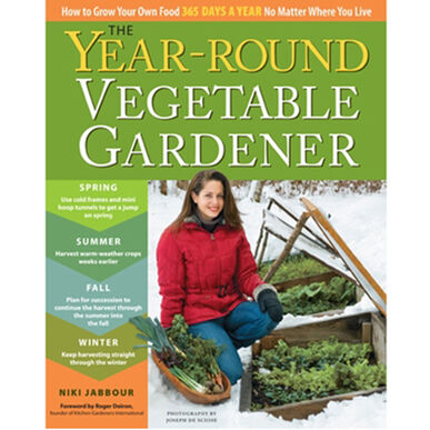 The Year-Round Vegetable Gardener Books