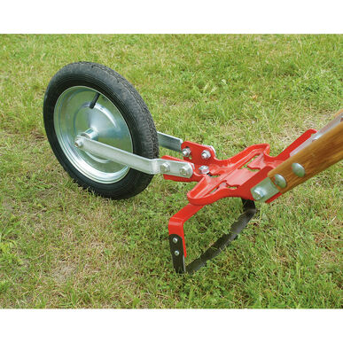 "Center Mount Oscillating Hoe – 10"" Glaser Wheel Hoe"