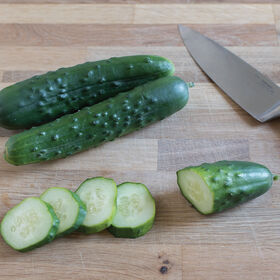 General Lee Slicing Cucumbers