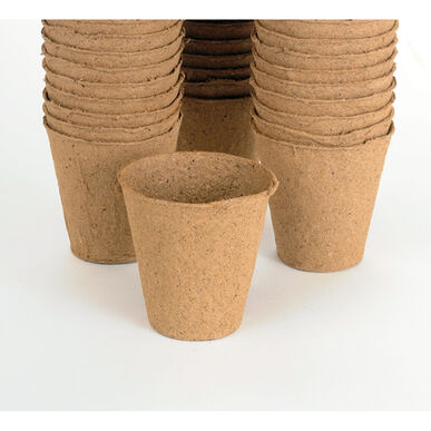 "3 1/8"" Round Fertil Pots – 1,370 Count Biodegradable Pots"