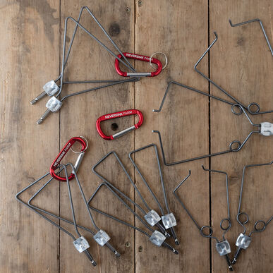 Premium Rebellion Head Kit – Firm Wire Weeders and Cultivators