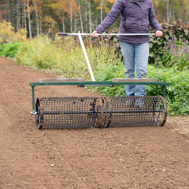 """Johnny's Seedbed Roller – 48"""" Seed Bed Rollers"""