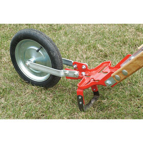 """Center Mount Oscillating Hoe – 5"""" Glaser Wheel Hoe and Attachments"""