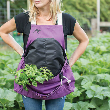 The Roo Apron® – Purple Orchid Aprons & Bags