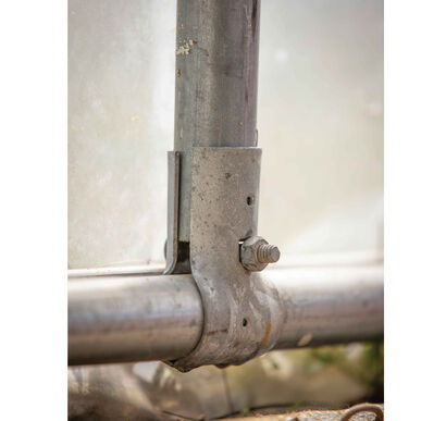 """End Rail Clamp – 1 3/8"""" Hardware"""