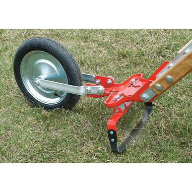 """Glaser Wheel Hoe with 12"""" Oscillating Hoe Glaser Wheel Hoe and Attachments"""