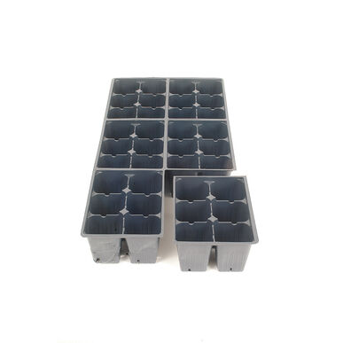 Jumbo Plug Flats – 100 Count Trays, Domes, and Flats