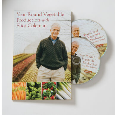 Year-Round Vegetable Production with Eliot Coleman DVD Books