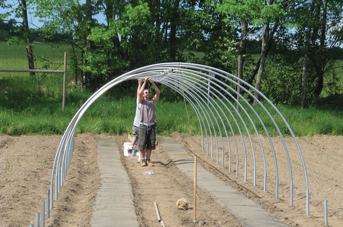 High Tunnel 12 Wide Quick Hoops Bender Johnnys Selected Seeds