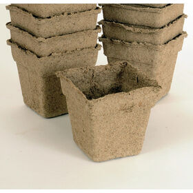"4"" Square CowPots™ – 180 Count Biodegradable Pots"
