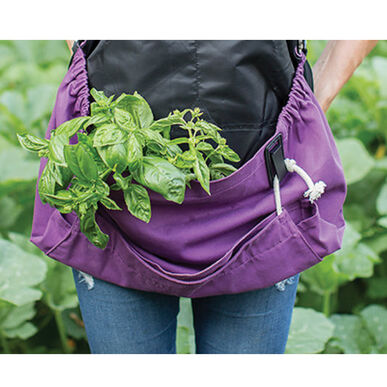 The Joey Apron® – Purple Orchid Harvesting Tools