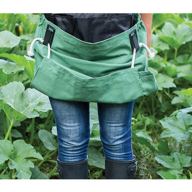 The Roo Apron® – Leaf Green Harvesting Tools