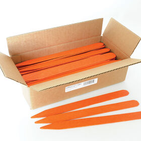 Orange Treated Garden Labels Labeling Supplies