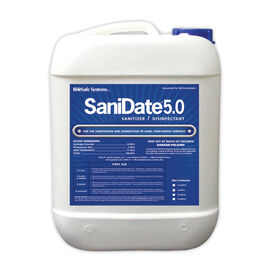 SaniDate® 5.0 Liquid Sanitizer – 2.5 Gal. Fungicides