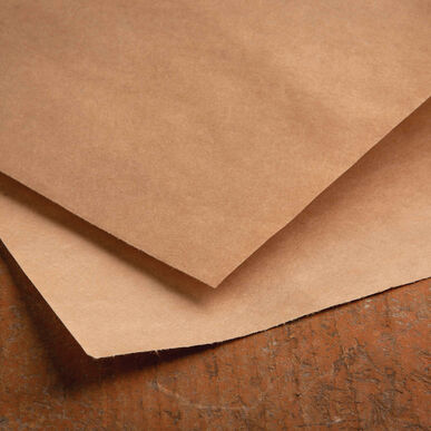 Kraft Paper Rectangular Sheets Cut-Flower Supplies