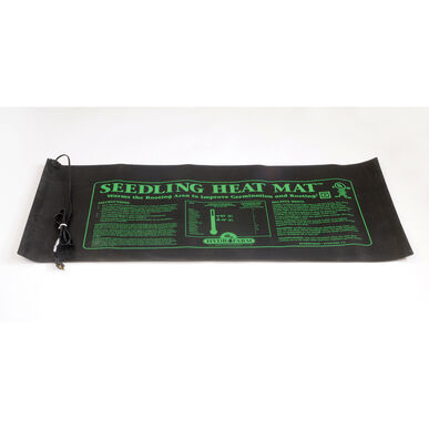 "Hydrofarm Seedling Heat Mat – 20"" x 48"", 107 Watts Seedling Heat Mats"