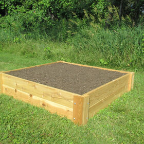 Cedar Raised Garden Bed – 4' x 4' Raised Beds & Planters