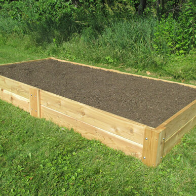 Cedar Raised Garden Bed – 4' x 8' Raised Beds & Planters