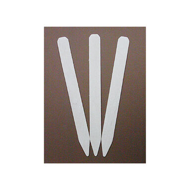 White Treated Garden Labels – 12 Count Labeling Supplies
