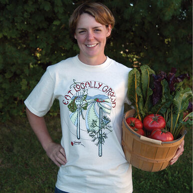 Local Food T-Shirt – M Shirts