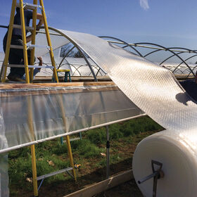 SolaWrap™ 10' Extruded Channel Greenhouse Film