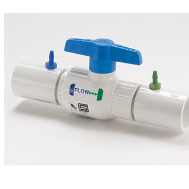 """Ball Valve Slip Coupling Connector – 1"""" Hose Accessories"""