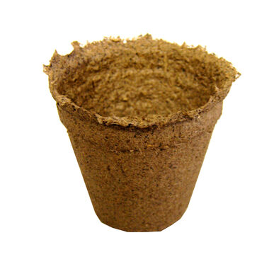 "3"" Round CowPots™ – 20 Count Biodegradable Pots"