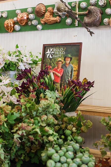 Jello Mold Farm at the Seattle Wholesale Growers Market