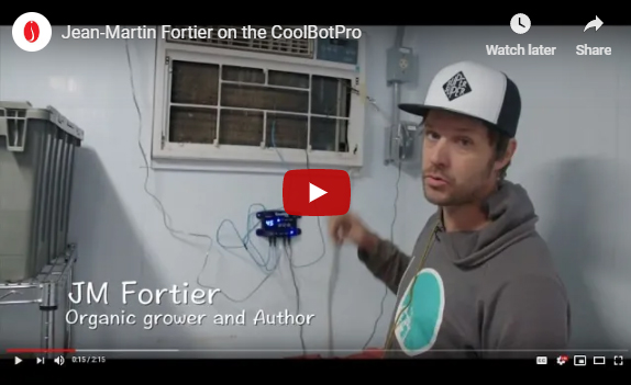 J-M Fortier on Using the CoolBot PRO