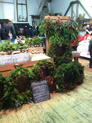Wreath workshop at Meadow Wilds in New Paltz, NY