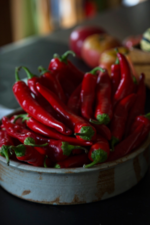 Bowlful of JPR 1078 Red Cayenne Pepper