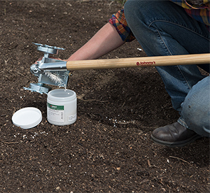 One-Row Pinpoint Seeder - great for greenhouse, tunnel, and end-of-row and ad hoc plantings.