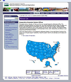Get to know the people at your state cooperative extension agency.