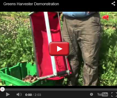 Greens Harvester