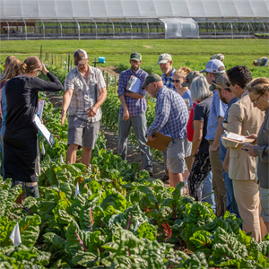 Field Forum at Johnny's Research Farm