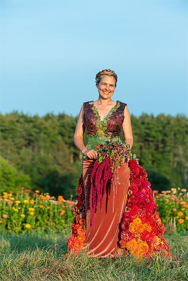 Joy Longfellow, Flower Trials Manager, Johnny's Selected Seeds