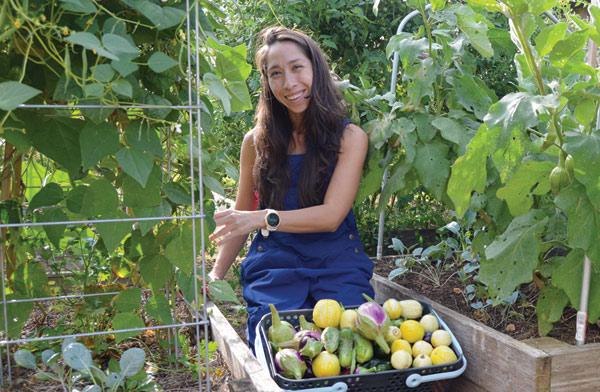 April Moreno-Ward, Ward Family Garden