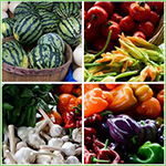 Outstanding Farmers' Markets Displays