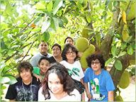 Students on Farm Tour