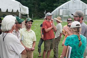 Tomato Growers, Researchers, & Educators Meet in Albion