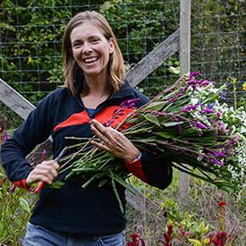 Erin McMullen of Rain Drop Farms
