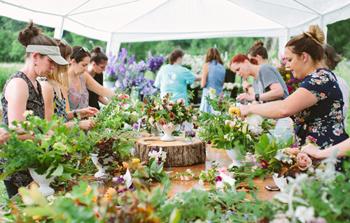 An Evening on the Flower Farm, hosted by Niki Irving of Flourish Flower Farm